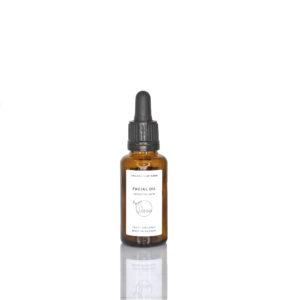 Organcs by Sara facial oil sensitive skin ekologisk naturlig ansiktsolja