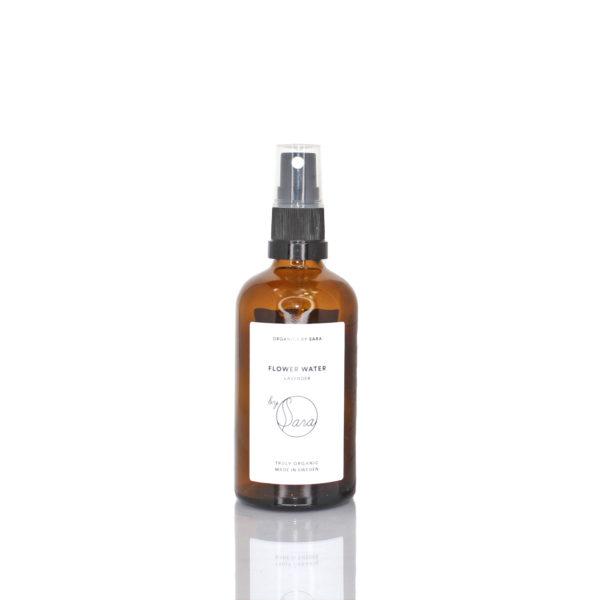 by sara flower water lavender ansiktsvatten naturlig hudvård naturligt ekologiak hudvård