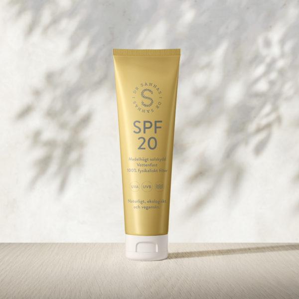 dr sannas solserie spf 20 spf 30 after sun naturliga solskydd naturlig hudvård ekologisk hudvård