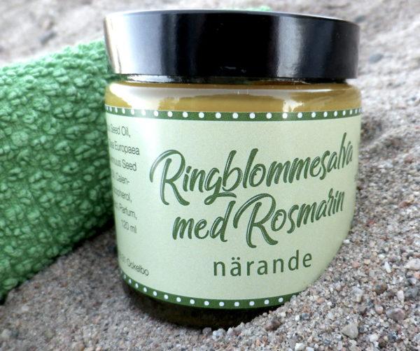 ockelbo bi ringblommesalva ringblommssalva ringblomma salva kräm naturlig handgjord naturlighudvård