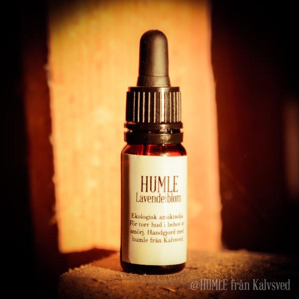 Humle Ansiktsolja lavendel naturlig ekologisk jojobaolja ricinolja humleolja aprikoskärnolja